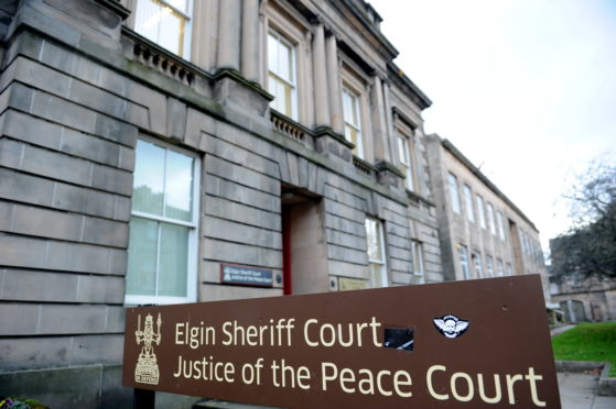 Elgin Sheriff Court.