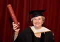 Gladys Sangster was given a Masters of the University from Aberdeen in November.