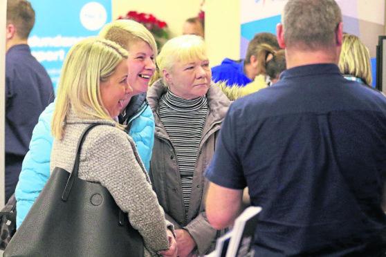 Jobs fair at Dingwall Town Hall.