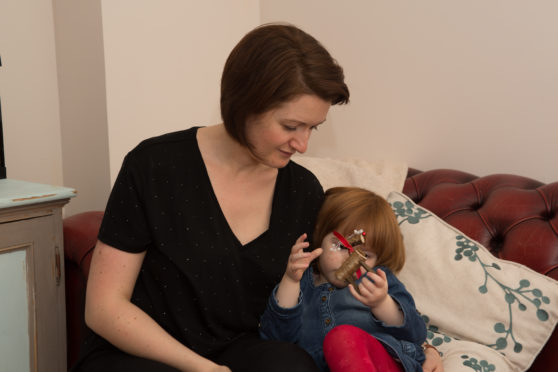 Olivia Jex, pictured with her three-year-old daughter Molly, has praised the benefits of nivolumab.