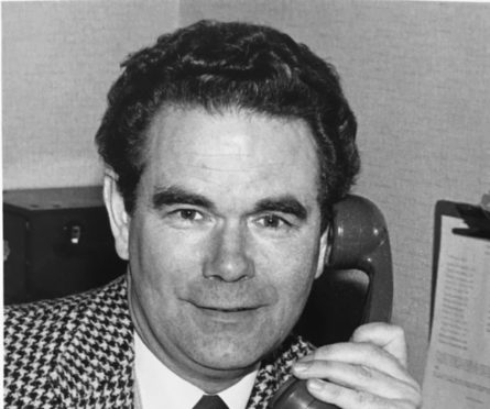 John Willie Campbell - former President of the Camanachd Association