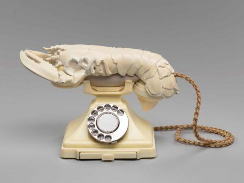 Salvador Dalí and Edward James Lobster Telephone.