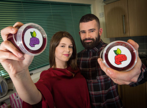 Conor and Iona Stewart run Beet This out of their kitchen in their family home
