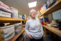 Mary Nelson (Chairwoman of Moray Fresh Start)  at their premises in Elgin, Moray.  Picture by Jason Hedges