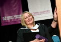 Bridgit Edmonstone of Elgin at RGU graduations at the Beach Ballroom.