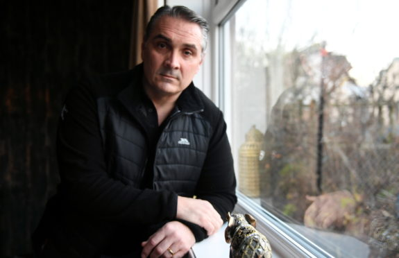 Miltary veteran - Former marine Simon Maryan, who trained as a psychologist after he left the forces.