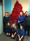 Pupils from The Nicolson Institute have created the poppy display as part of the upcoming Iolaire Commemorations taking place on the island.