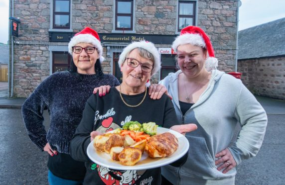 Free Christmas Dinner.Insch Village Pub To Offer Free Christmas Dinner To Those On
