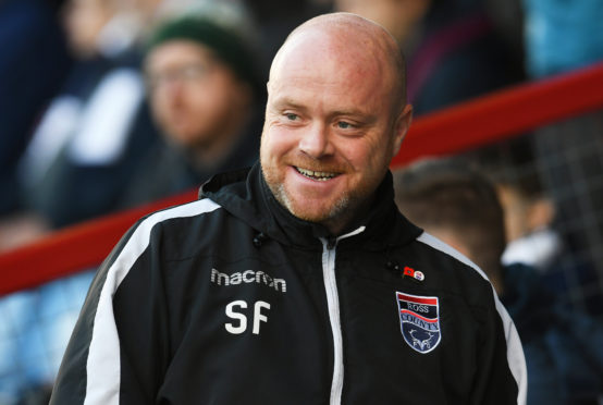 Ross County manager Steven Ferguson