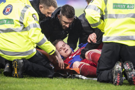 Gary Mackay-Steven 'okay' after League Cup final concussion