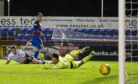 04/12/18 WILLIAM HILL SCOTTISH CUP 3RD ROUND REPLAY INVERNESS CT v EDINBURGH CITY TULLOCH CALEDONIAN STADIUM - INVERNESS Inverness CT's Aaron Doran scores the 6th goal to make it 6-1