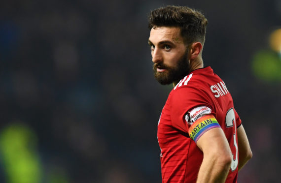 Aberdeen skipper Graeme Shinnie is out of contract in the summer.