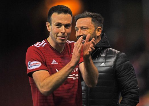 Andy Considine scored twice in Tuesday's 5-1 rout of Dundee.