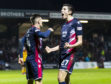 22/12/18 LADBROKES CHAMPIONSHIP ROSS COUNTY v PARTICK THISTLE (2-0) GLOBAL ENERGY STADIUM - DINGWALL Ross County's Ross Stewart celebrates his goal