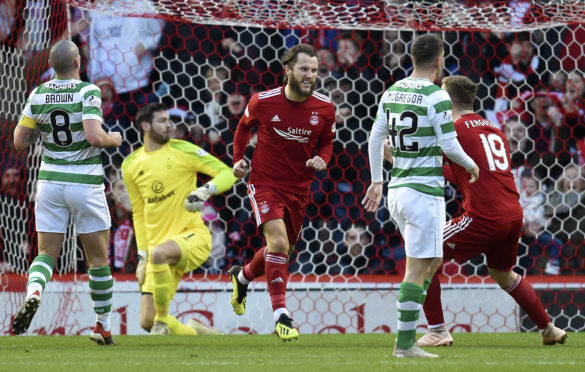Aberdeen's Stevie May.