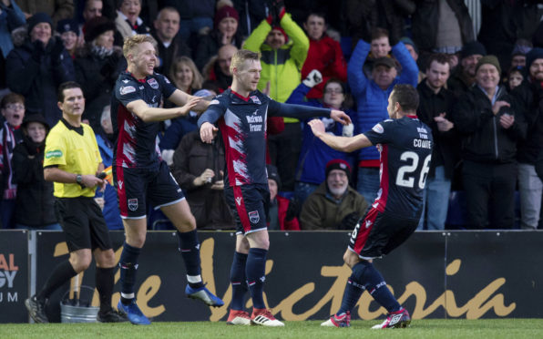 Ross County got the better of the Caley Jags in December.