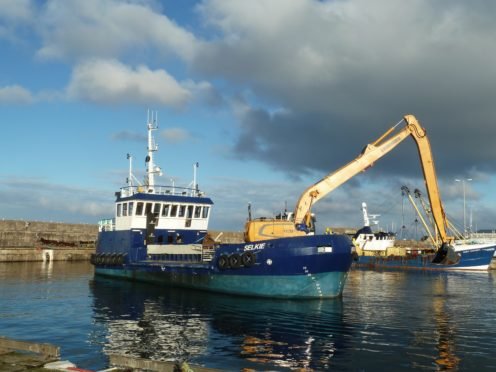 The Selkie is based at Buckie Harbour.