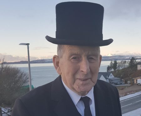 Bobby Corson, the longest serving undertaker in Lochaber passed was laid to rest on Sunday.