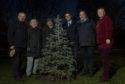 (left to right) Alistair Henderson, Lesley Glasser,  Ian Elrick,  Peter Best, Dennis Grattan, Rhonda Reekie