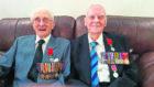 Dornoch men Andrew MacLeod and Andrew Mackenzie were awarded the Legion d'Honneur