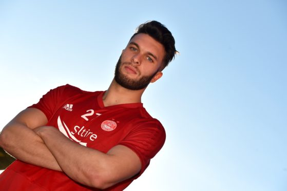Aberdeen youngster Connor McLennan.