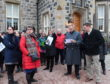 Aberdeenshire councillors visit the Menie Estate where Trump International wants to build luxury homes.