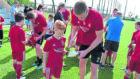 Aberdeen FC training in Dubai