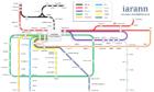 Simon Varwell's fantasy metro network.
