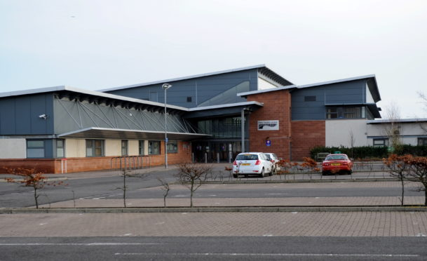 Links Health Centre in Montrose, where the incident took place.