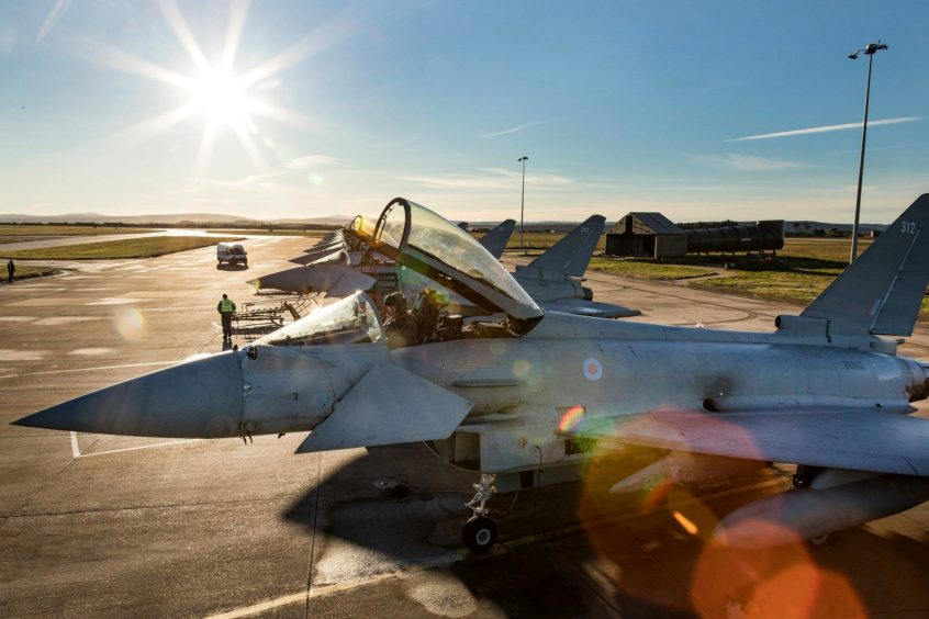 Picture credit: @RAF Lossiemouth
