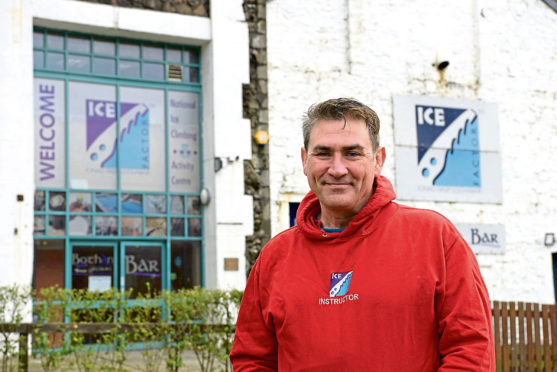 ICE FACTOR 3/2/16 Jamie Smith outside the soon-to-re-open, Ice Factor. PICTURE IAIN FERGUSON, THE WRITE IMAGE