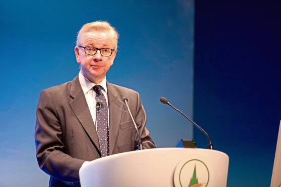 Defra Secretary of State Michael Gove at the Oxford Farming Conference.