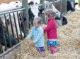 Children attending an Open Farm Sunday event.