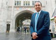 Paul Uppal, Small Business Commissioner in Aberdeen.
