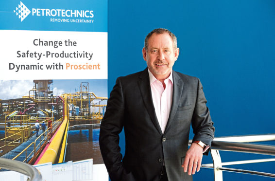 Phil Murray, chief exec of oil and gas technology firm Petrotechnics.