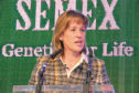 NFU president Minette Batters at the Semex Conference 2019