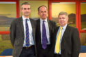 James Craig, Mike Blair and Alan White.