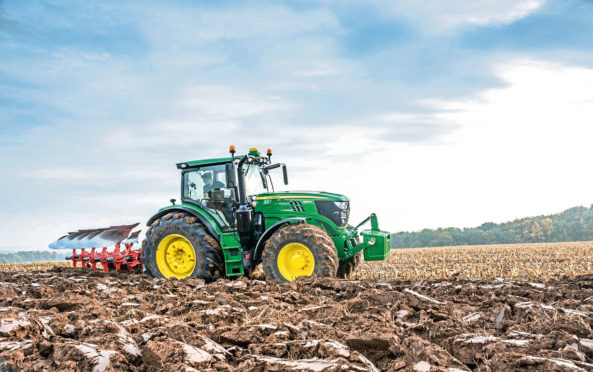 John Deere remains the most popular tractor brand in the UK.