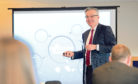 Breakfast briefing: Guest speaker Kirk Tudhope, of Ledingham Chalmers, told businesspeople about developments in employment law