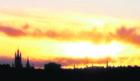 Aberdeen's skyline from Charlie Scott, New Pitsligo.