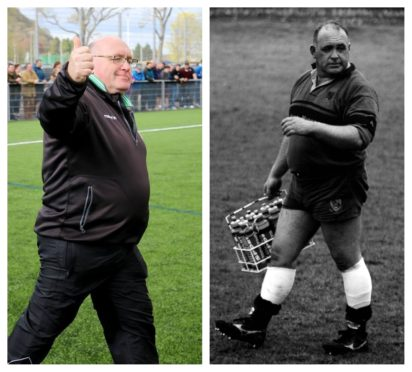 Highland stalwart Alister 'Porky' Wemyss who has passed aged 62