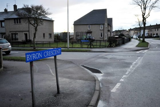 Byron Crescent in Northfield. Picture by Kath Flannery.