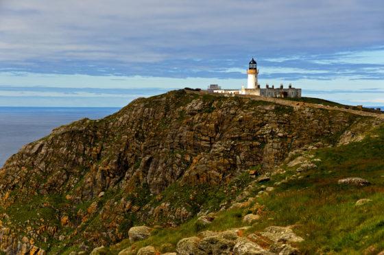 Barra Head Lighthouse. Picture taken by Ian Cowe.
