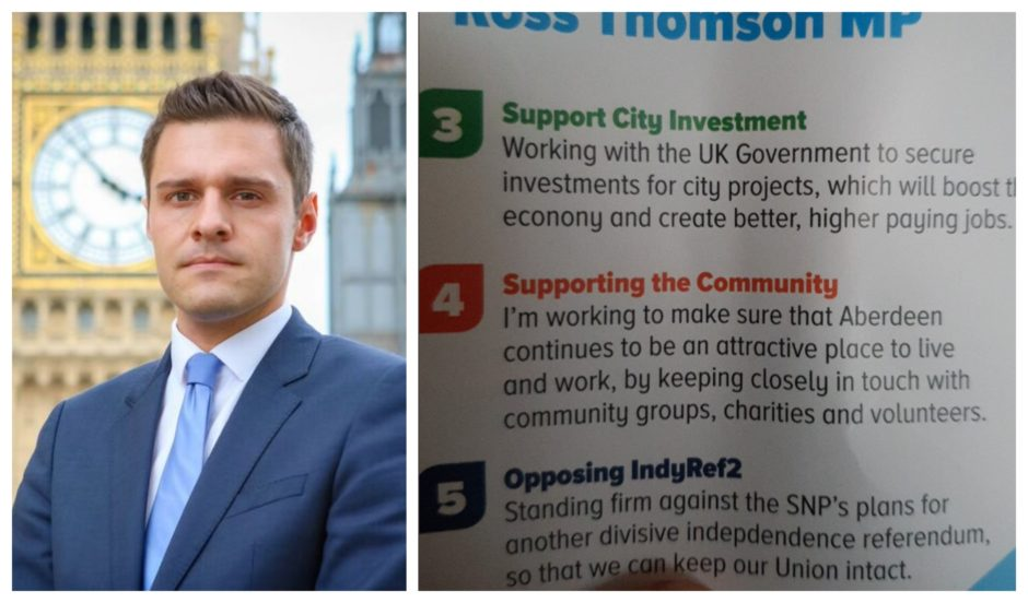 Spelling gaffe on Aberdeen MP's leaflet prompts outrage