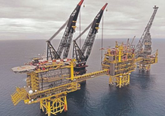 The Culzean installation in the North Sea