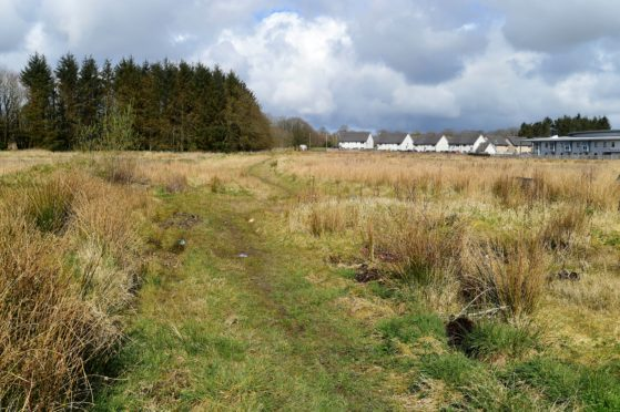 The proposed Castlehill Housing Association development in Mintlaw has been abandoned.