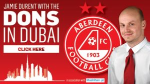 Dons in Dubai: Follow all the news from Aberdeen FC's Middle East training camp