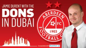 Dons in Dubai video diary: Jamie and Sean on Aberdeen's day with their expat fans