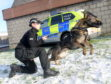 New recruits PC Laura Fairbairn and PD Ava.