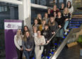 UHI's first ever intake of midwifery students at the Centre for Health Science Inverness